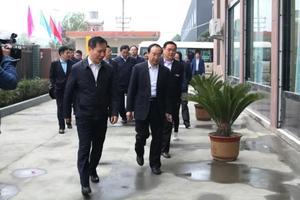 江苏省溧阳市委书记蒋锋参观产业园